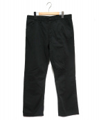 LOUIS VUITTON(ルイヴィトン)の古着「テーパードパンツ」|ブラック