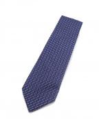 HERMES(エルメス)の古着「シルクネクタイ」|ブルー