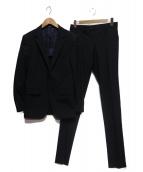COMME CA MEN(コムサメン)の古着「3Bセットアップスーツ」|ネイビー