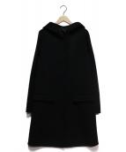 JOSEPH(ジョセフ)の古着「フーデッドコート」|ブラック