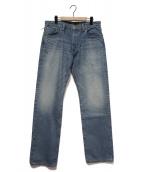CALEE(キャリ)の古着「デニムパンツ」|インディゴ
