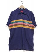 SUPREME(シュプリーム)の古着「Chest Stripes Polo」|ネイビー