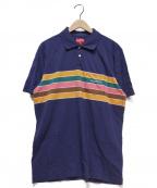 SUPREME(シュプリーム)の古着「Chest Stripes Polo」 ネイビー