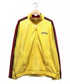 Supreme(シュプリーム)の古着「Bonded Mesh Track Jacket」|レッド×イエロー