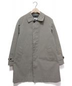 BEAUTY&YOUTH(ビューティアンドユース)の古着「3WAYボンディングステンカラーコート」 グレー