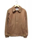 L.L.BEAN(エルエルビーン)の古着「ウールスイングトップ」|ブラウン