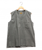 BROWN by 2-tacs(ブラウンバイツータックス)の古着「ALMIGHTY VEST」 グレー