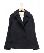 ORCIVAL(オーシバル)の古着「メルトンPコート」|ダークネイビー