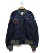 TED COMPANY(テッドカンパニー)の古着「L-2フライトジャケット」 ネイビー