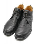 HERMES(エルメス)の古着「チャッカーブーツ」|ブラック