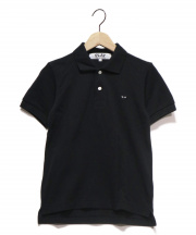 PLAY COMME des GARCONS(プレイコムデギャルソン)の古着「ポロシャツ」|ブラック