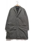 DESCENTE PAUSE(デサントポーズ)の古着「ダウンチェスターコート」|グレー