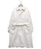 UNITED ARROWS & SONS(ユナイテッドアローズ アンド サンズ)の古着「SONS BAL COLLAR COAT」|ホワイト