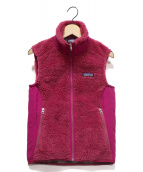 Patagonia(パタゴニア)の古着「Ws Retro-X Vest」|ピンク