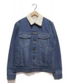 NAISSANCE(ネサーンス)の古着「デニムボアジャケット」|インディゴ
