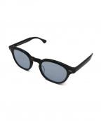 KANEKO OPTICAL(金子眼鏡)の古着「Johnカラーレンズサングラス」 ブラック