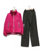 TERNUA(テルヌア)の古着「GORE-TEXセットアップ」|グレー×ピンク