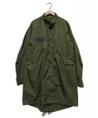 US ARMY(米軍)の古着「M-65PARKA」|オリーブ