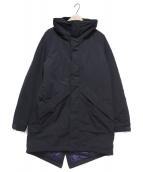 WILD THINGS(ワイルドシングス)の古着「HD NYLON WARM COAT」 ブラック