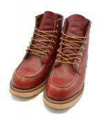 RED WING(レッドウィング)の古着「8131クラシックモックトゥブーツ」|ブラウン