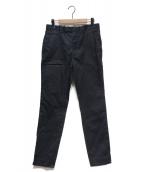SETSUNA(セツナ)の古着「高密度ウエストポイントテーパードパンツ」|ブラック
