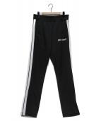Palm Angels(パームエンジェルス)の古着「CLASSIC TRACK PANTS」|ブラック×ホワイト