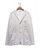 45R(フォーティファイブアール)の古着「ワッフル3Bジャケット」 ホワイト