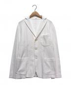 45R()の古着「ワッフル3Bジャケット」 ホワイト