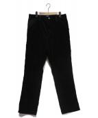 CARHARTT WIP(カーハート)の古着「SINGLE KNEE PANT」|ブラック