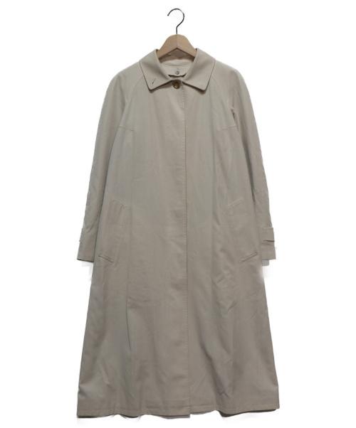 BURBERRY LONDON(バーバリーロンドン)BURBERRY LONDON (バーバリーロンドン) ノヴァチェックライナーステンカラーコート ベージュ サイズ:38の古着・服飾アイテム
