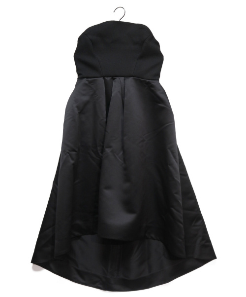 YOKO CHAN(ヨーコチャン)YOKO CHAN (ヨーコチャン) ベアトップドレスワンピース ブラック サイズ:40の古着・服飾アイテム