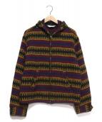 TENDERLOIN(テンダーロイン)の古着「T-INDIAN PARKA ZIP」|マルチカラー