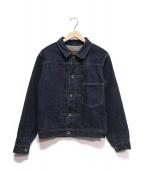 ATLAST & CO(アットラスト)の古着「118 1Stタイプデニムジャケット」|インディゴ