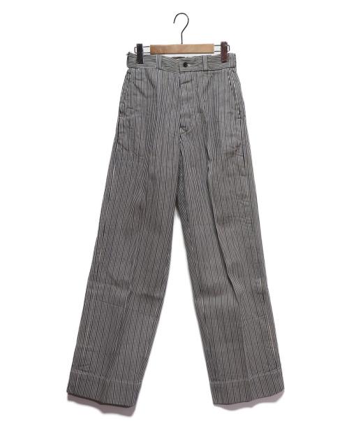 45R(フォーティファイブアール)45R (フォーティファイブアール) 1000デニム908PANTS ネイビー×ホワイト サイズ:1 参考定価26.000円+税の古着・服飾アイテム