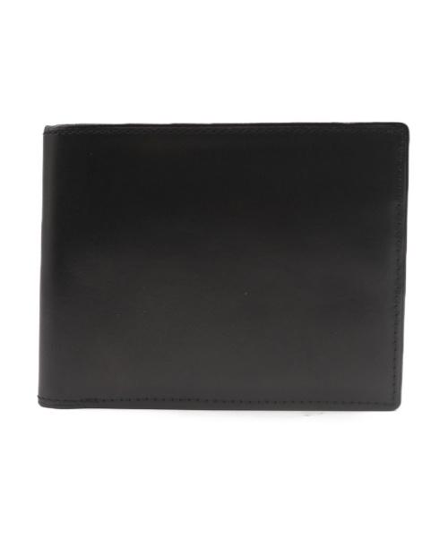 PORTER(ポーター)PORTER (ポーター) レザーコンパクトウォレット ブラックの古着・服飾アイテム