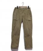 Pilgrim Surf+Supply(ピルグリム サーフ+サプライ)の古着「LEROY Ripstop Fatigue Pant」 ベージュ