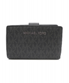 MICHAEL KORS(マイケルコース)の古着「2つ折り財布」|ブラック