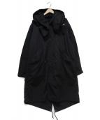 AVIREX(アビレックス)の古着「M-65モッズコート」|ブラック