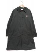 DANTON(ダントン)の古着「ルーズフィットステンカラーコート」|ブラック