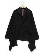 Y's(ワイズ)の古着「バックデザイン3Bジャケット」|ブラック