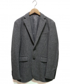 INTERMEZZO(インターメッツォ)の古着「ウールテーラードジャケット」|ライトグレー