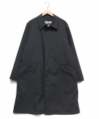 BURBERRY LONDON(バーバリーロンドン)の古着「ノヴァチェックライナー付ステンカラーコート」|ブラック