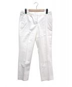 INCOTEX(インコテックス)の古着「テーパードパンツ」|ホワイト