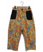 diddlediddle(ディドゥルディドゥル)の古着「ENERGY Pants Psyche」|イエロー