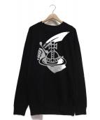 Vivienne Westwood(ヴィヴィアン・ウエストウッド)の古着「プリントスウェット」|ブラック