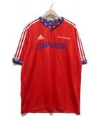 Gosha Rubchinskiy×adidas(ゴーシャ・ラブチンスキー×アディダス)の古着「World Cup saransk jersey」|レッド