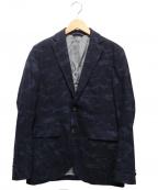 INTERMEZZO(インターメッツォ)の古着「ウールテーラードジャケット」|ネイビー