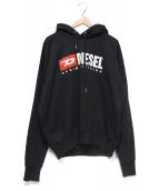 DIESEL(ディーゼル)の古着「ヴィンテージロゴパーカー」 ブラック