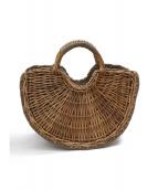 ebagos(エバゴス)の古着「kago bukuroかごサンドバッグ」|ブラウン