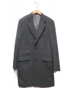 NEWYORKER(ニューヨーカー)の古着「カシミヤチェスターコート」|グレー